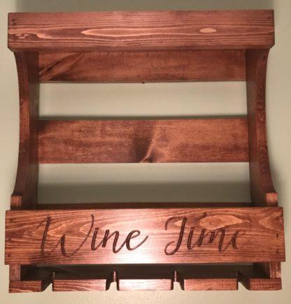 wine rack solid wood pine wine rack